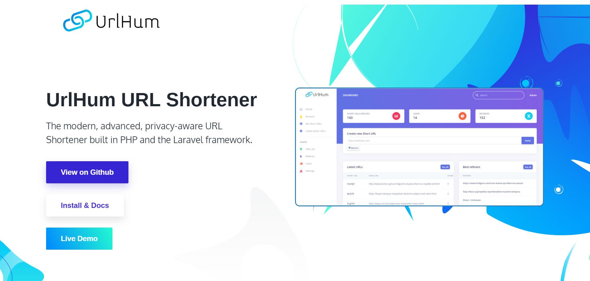 UrlHum URL Shortener